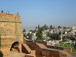 alhambra, spain, granada