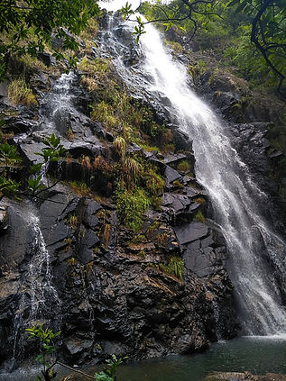 Hong Kong, trail, mountain, hiking, view, waterfall