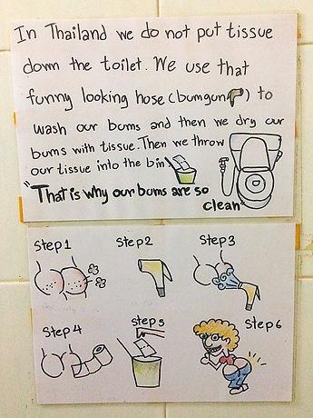 thailand, toilet