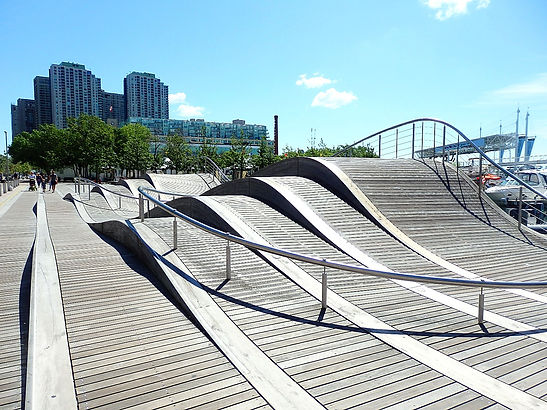 wave deck, toronto, canada