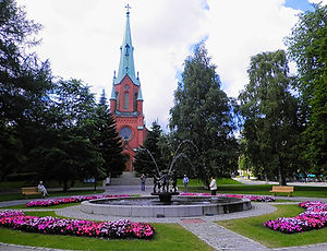 church, tampere, finland