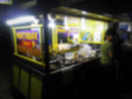 Lombok Indonesia street food pancakes martabak