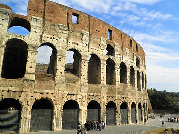 Colosseum, rome, italy, ruins