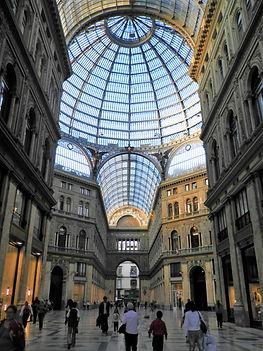 Galleria Umberto, naples, italy, arcade