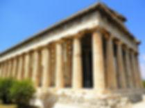 Temple of Hephaistos, Ancient Agora, athens, greece