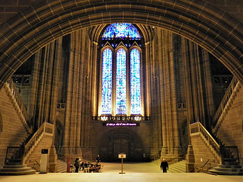 Liverpool cathedral, liverpool, england