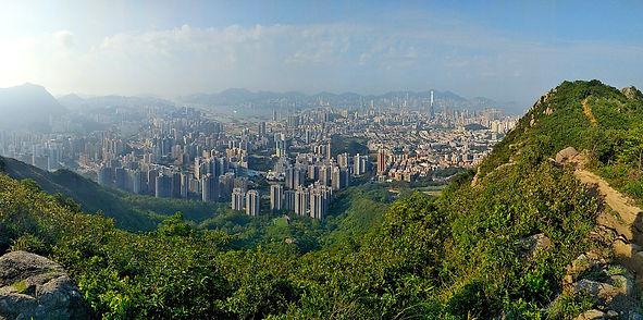 hiking, trail, hong kong, mountain, view, maclehose, scenery, lion rock