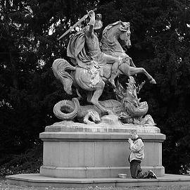 zagreb, croatia, statue