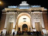 Menin gate, last post, ypres, belgium