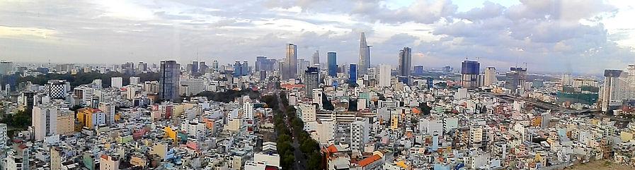 saigon, ho chi minh city, vietnam, city, view