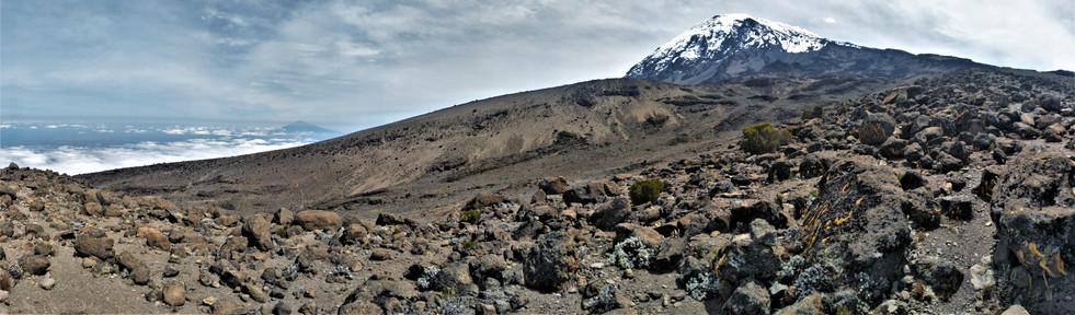 Looking back at Kilimanjaro
