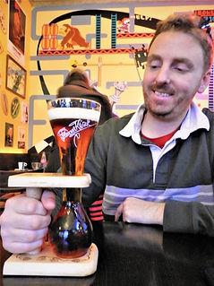 Kwak beer, brussels, belgium
