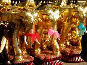 erawine shrine bangkok thailand