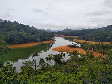 hong kong, trail, mountain, hiking, view, island, water, boats, harbour