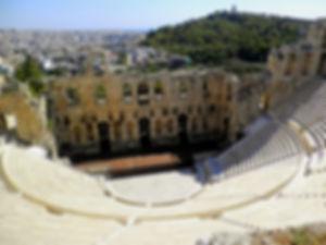 Herodes Atticus Theatre, Acropolis, athens, greece