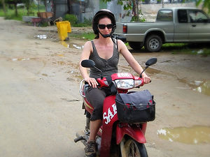 scooter, thailand