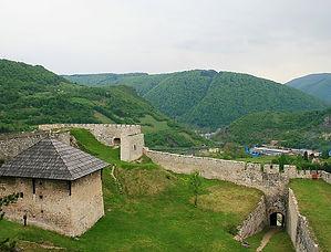 jajce, bosnia, castle, view