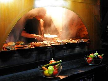 food, dinner, sozopol, bulgaria, barbecue