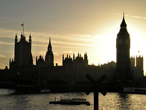 Big Ben, Houses of Parliament, london, england, sunset
