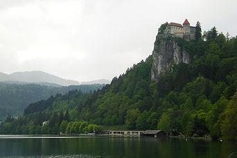 bled, slovenia, lake, castle