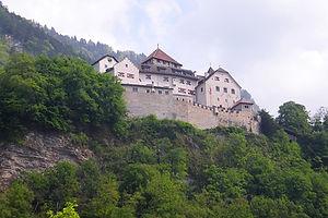 vaduz, liechtenstein, castle