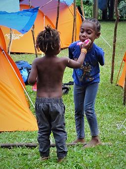 kokoda trail, track, papua new guinea, mountain, jungle, trek, hike, children, play