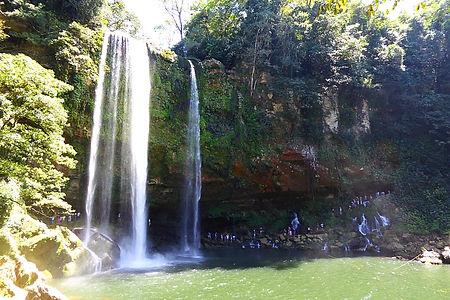 misol ha mexico waterfall