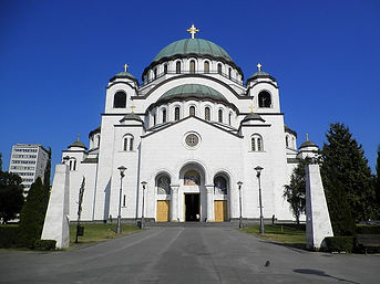 St Sava cathedral, belgrade, serbia