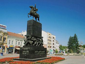king milan square, nis, serbia