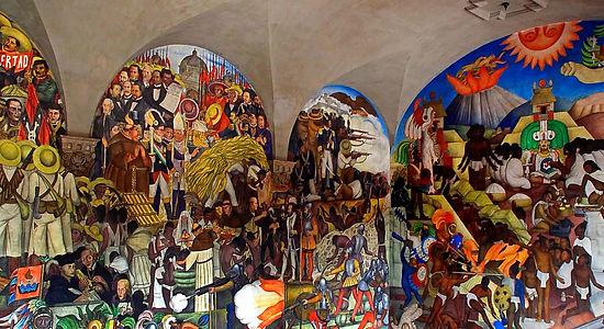 rivera, mural, palacio nacional, mexico