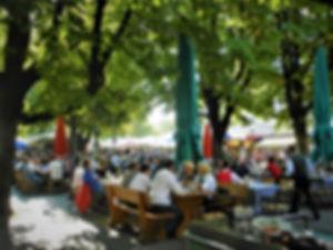 Viktualienmarkt, munich, germany