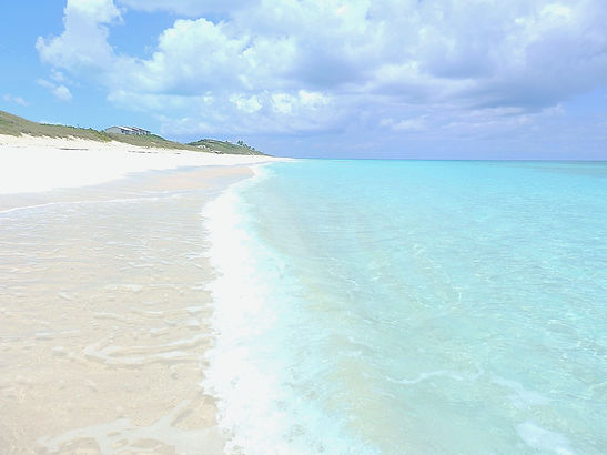 beach, stocking island, exumas, bahamas