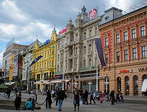zagreb, croatia, city, street
