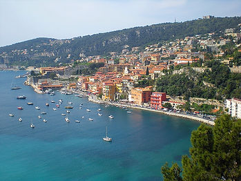france, nice, water, coast, view