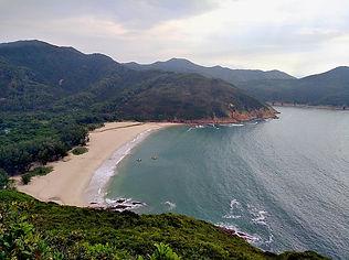 hong kong, trail, view, mountain, maclehose, hiking, beach
