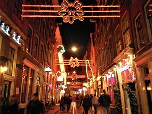 Amsterdam, red-light district, netherlands