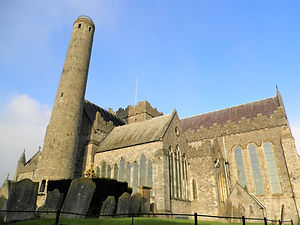 St Canice's cathedral, kilkenny, ireland