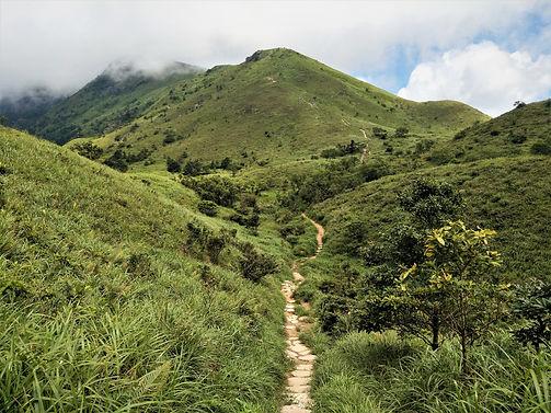 lantau island, lantau trail, view, mountain, hiking, hong kong