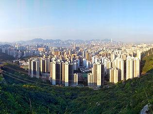 hiking, trail, hong kong, mountain, view, maclehose, scenery, city