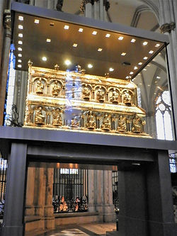 Tomb of Three Wise Men, Dom, cathedral, cologne, germany