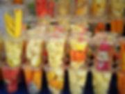 fruit, smoothie, luang prabang, laos