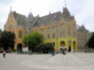 Town hall, kecskemet, hungary