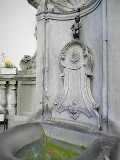 Mannekin Pis, fountain, brussels, belgium