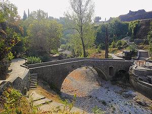 Ribnica river, podgorica, montenegro