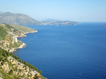 croatia, dalmatian coast, coastine, water, sea