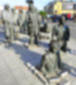 Passage sculpture, wroclaw, poland