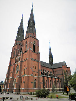 Cathedral, Uppsala, sweden