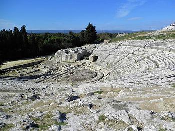 Teatro Greco, Parco Archeologico, Syracuse, sicily, italy