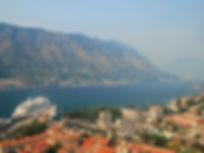 View, castle, kotor, montenegro