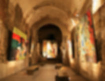 ljubljana, slovenia, castle, art